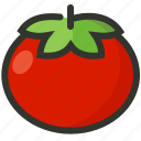 food, juice, salad, tomato, vegetable icon
