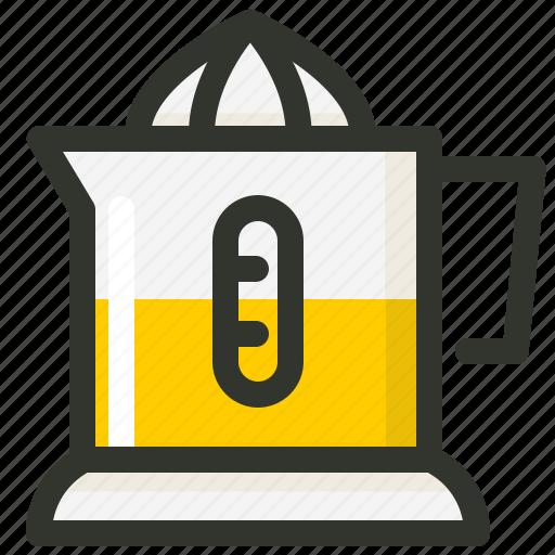 Food, juice, juicer, lemon, orange, squeezer icon - Download on Iconfinder
