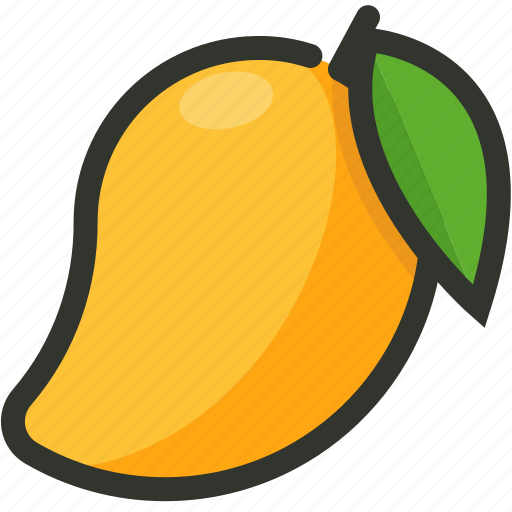 Food, fruit, juicy, mango, tropical icon - Download on Iconfinder