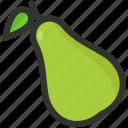food, fruit, organic, pear, tropical