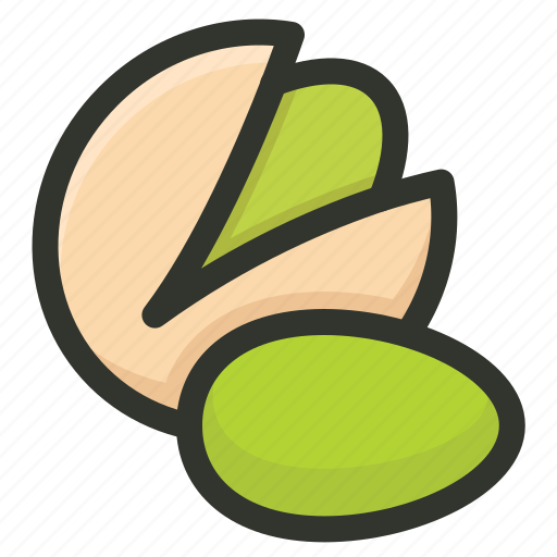 Food, nut, nuts, pista, pistachio icon - Download on Iconfinder
