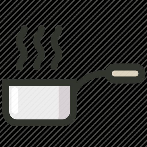 cooking, food, hot, kitchen, pan, pot, sauce icon