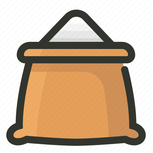 food, sack, salt, sugar icon