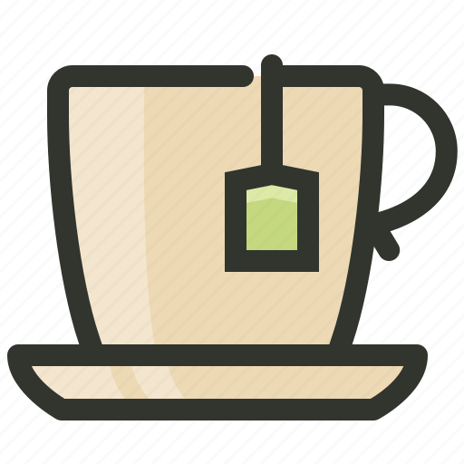 beverage, cup, food, glass, tea icon