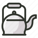 coffee, food, kettle, tea, teapot icon