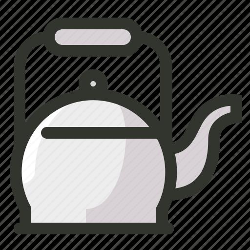 coffee, food, kettle, tea, teapot icon
