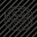 bakery, dessert, donut, doughnut, fondant, food, frosting