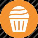 cupcake, dessert, food, party, sweet, treat icon