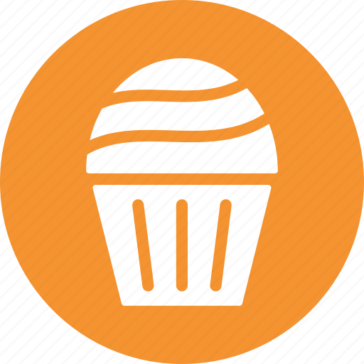 cupcake, dessert, food, party, sweet, treat icon