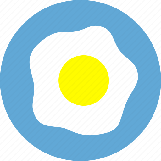 breakfast, dinner, eating, egg, food, fried egg, meal icon