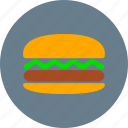 breakfast, burger, eating, fast food, food, hamburger, meal icon