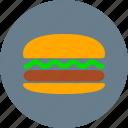 breakfast, burger, fast food, food, hamburger, eating, meal
