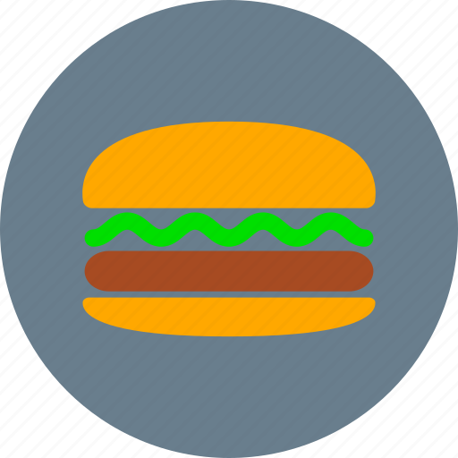 breakfast, burger, eating, fast food, food, hamburger, meal icon
