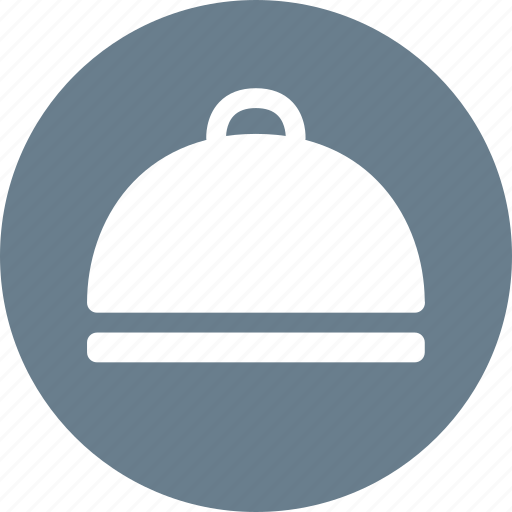 covered food, covered platter, food, food serving, platter, restaurant icon