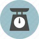cooking, scale, weight, weight scale icon