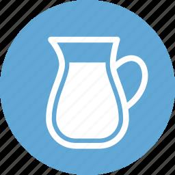food, healthcare, healthy, meal, milk, milk bottle, milk glass icon
