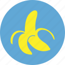 banana, food, fruit, healthy, vegetable, vitamine icon