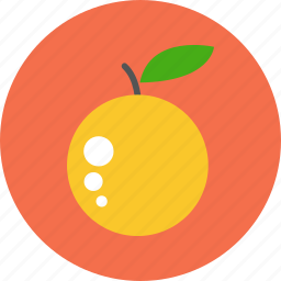 drink, food, fruit, fruits, healthy, lemon, orange icon