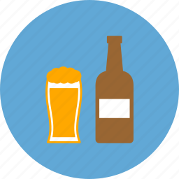 alcohol, bar, beer, beer glass, drink, food icon