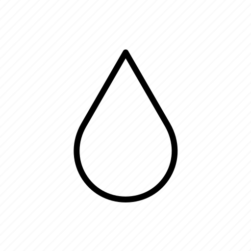 drop, droplet, food, water icon