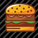 burguer, dinner, fast food, food, hamburguer, meat