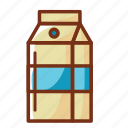 bottle, food, health, juice, milk icon