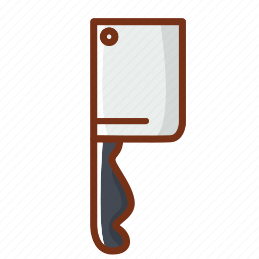 cook, cooking, food, kitchen, knife, meat icon