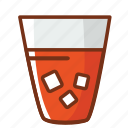 drink, food, ice, juice, orange icon