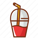 bottle, drink, food, fruits, juice, smoothie icon