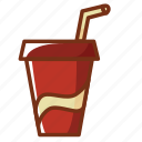alcohol, coca, cola, drink, food, soda icon