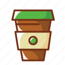 bottle, coffee, energy, food, power, tea icon