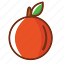food, fruit, health, juice, nutrition, orange icon
