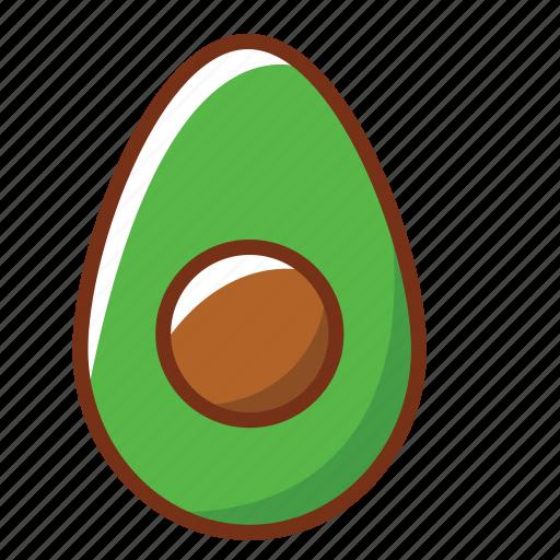 avocado, food, health, nutrition, vegetables icon