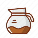 coffee, drink, energy, pitcher, power icon
