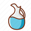 drink, food, pitcher, tea, water icon