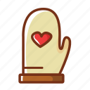 baking, food, gloves, kitchen, protection icon