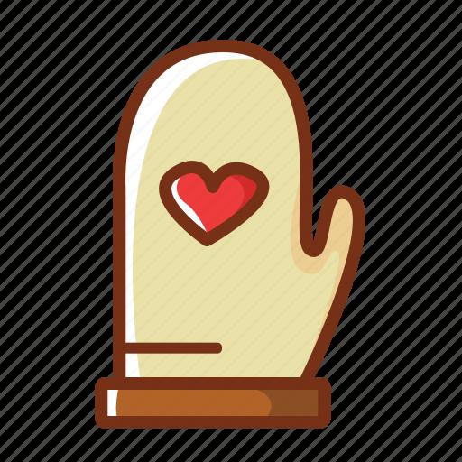 baking, food, gloves, kitchen, protection icon