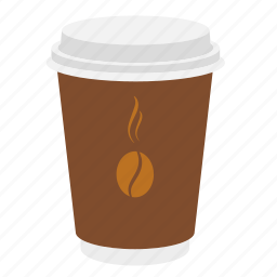 beverage, coffee, coffee cup, cup, espresso, food to go, take-out, takeaway, takeout icon