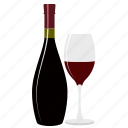 alcohol, bar, beverage, drink, glass, restaurant, wine icon