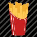 chips, fast food, fried potato, macdonald, snack, cook, potatoe