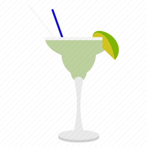 alcohol, beverage, coctail, drink, fruit, glass, lime, margarita cocktail, wine icon