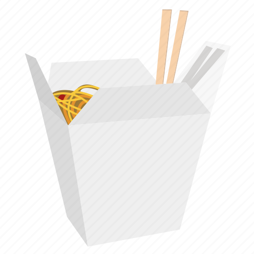 box, chinese, chopstick, cook, food, noodles, restaurant icon