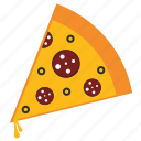 cheese, cooking, eat, fast food, food, pizza, restaurant icon