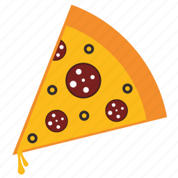 cheese, cooking, fast food, food, pizza, restaurant icon