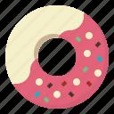 baker, bakery, dessert, donut, doughnut, sugar, sweet