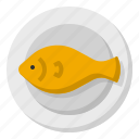 and, dish, fish, food, gastronomy, restaurant icon