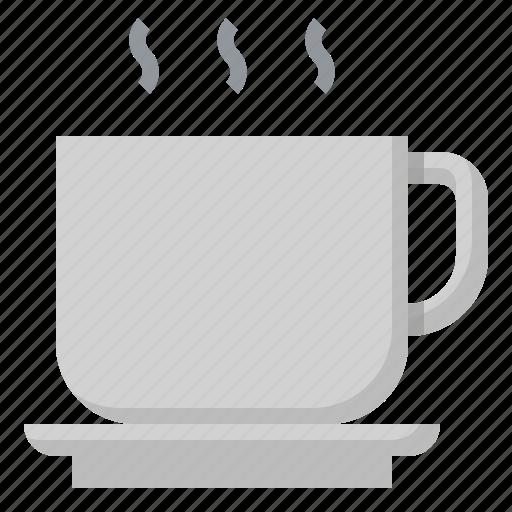 coffee, cup, drink, food, hot, restaurant, tea icon