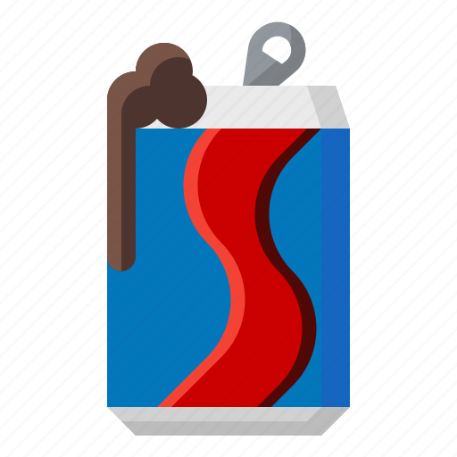 beer, can, cola, drink, food, refreshing, soda icon