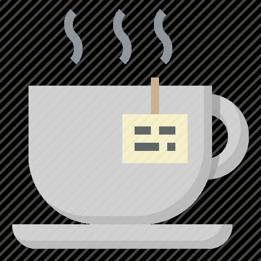 cup, drink, food, hot, mug, restaurant, tea icon