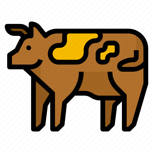 beef, cow, food, meat icon